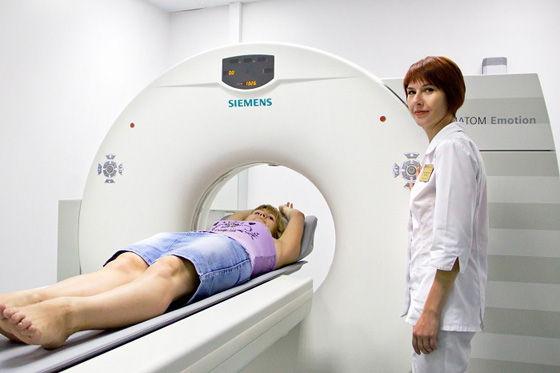 проведение КТ головного мозга